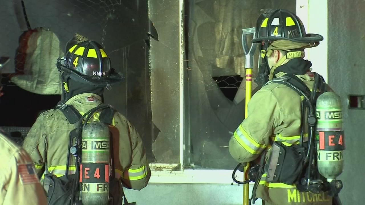 Fire broke out at abandoned home in Central Fresno