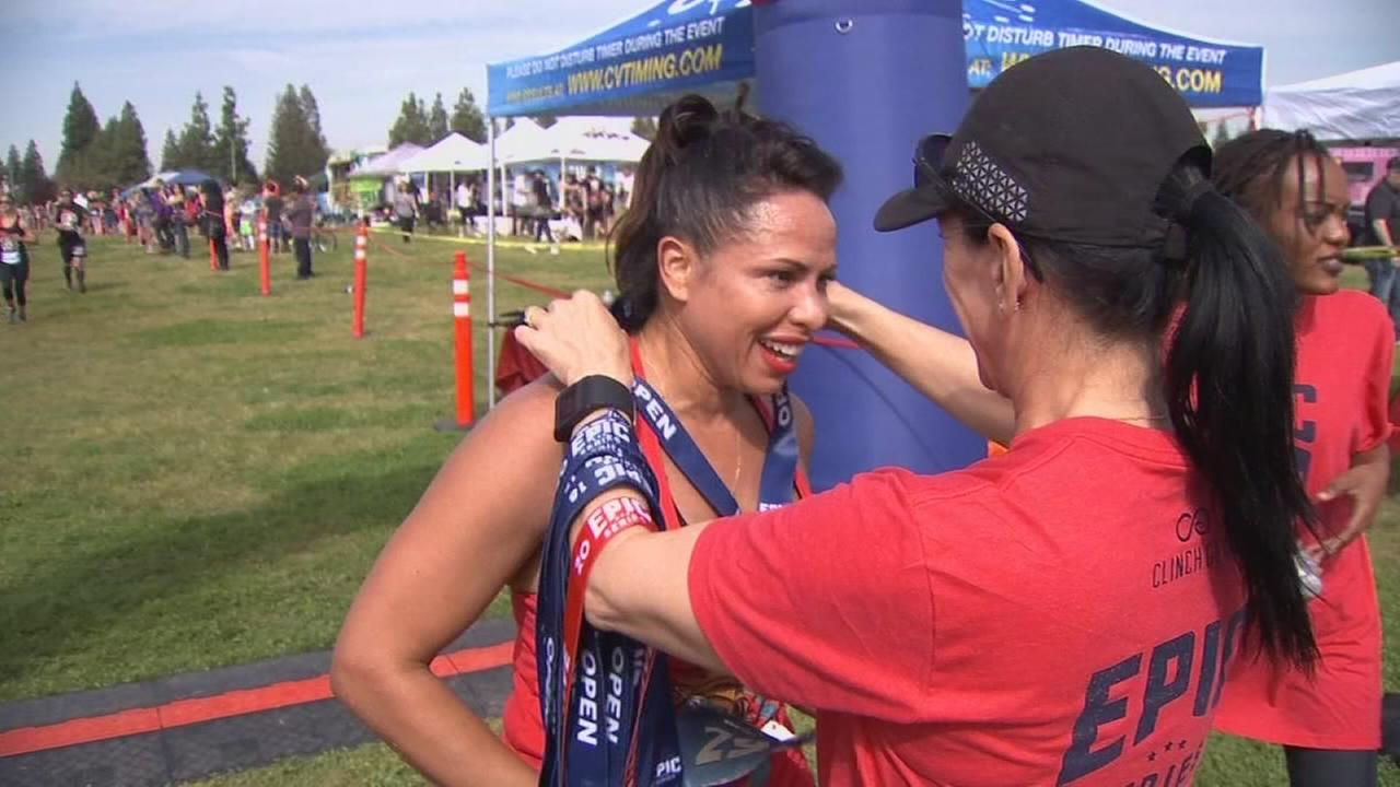 No obstacle was too tall for hundreds of athletes in Clovis