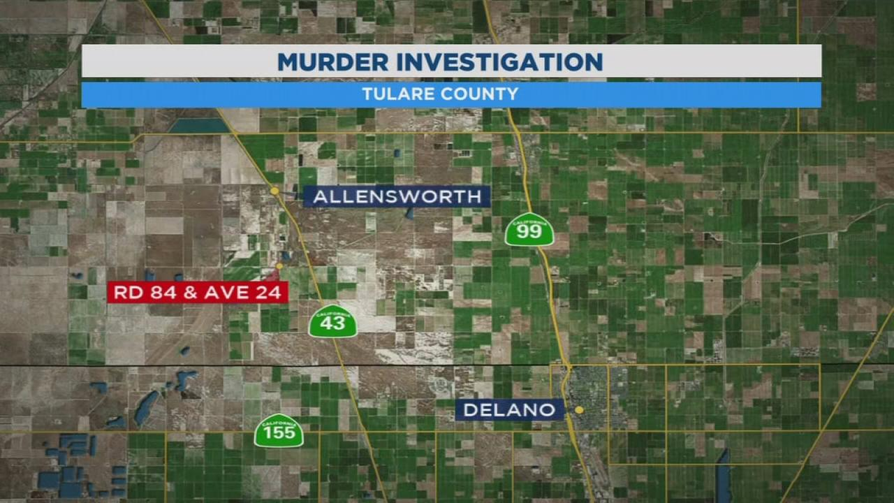 Sheriffs Office investigates body found in orchard near Allensworth