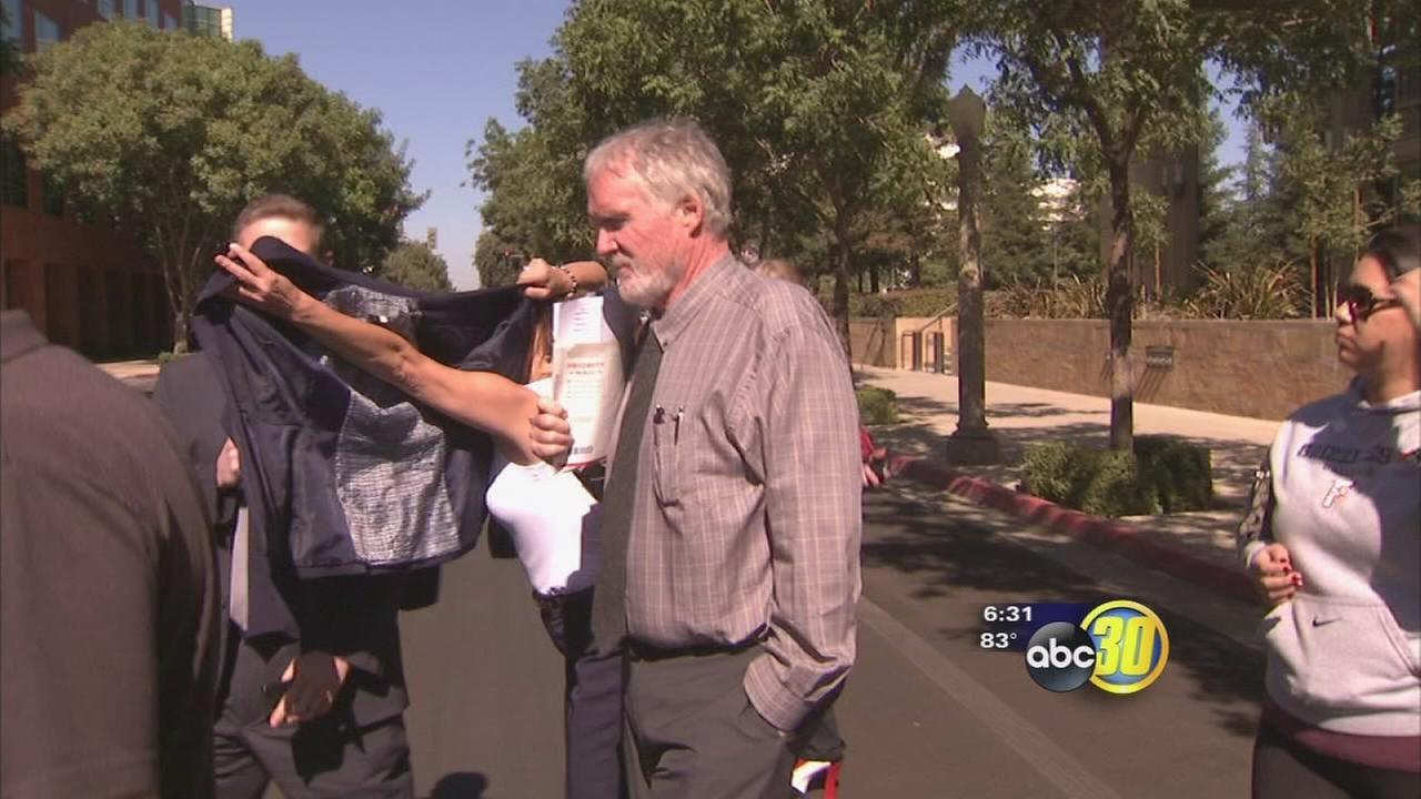 Wild incident as ABC30 questions doctor sentenced for prescribing painkillers