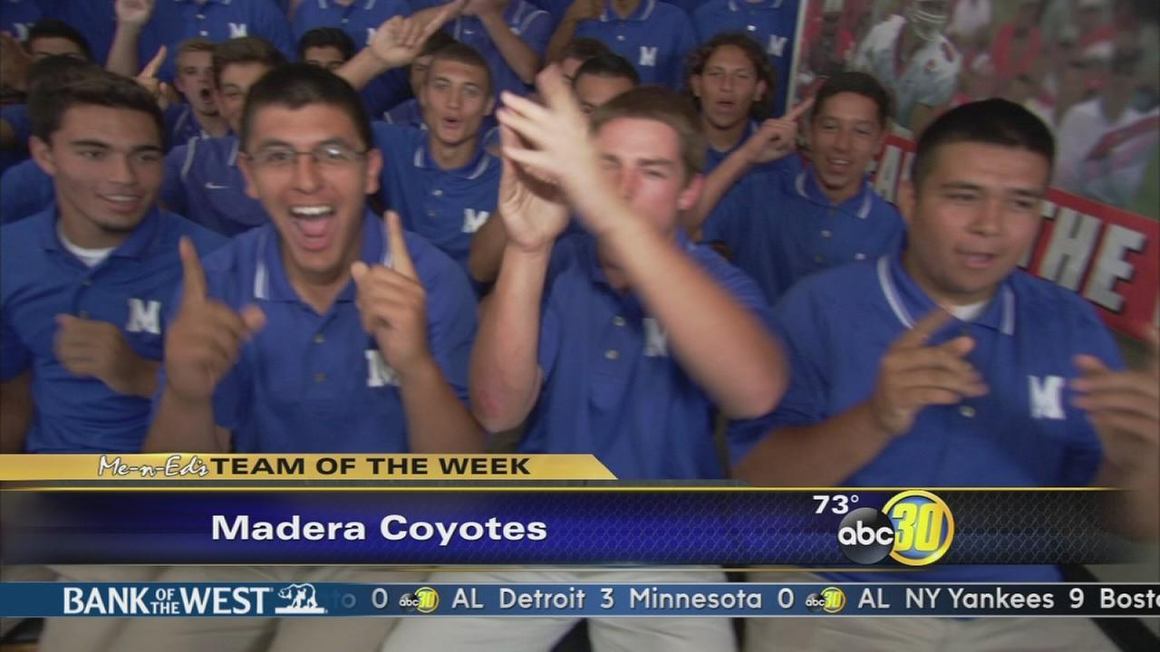 Me-N-Eds Team of the Week: Madera Coyotes