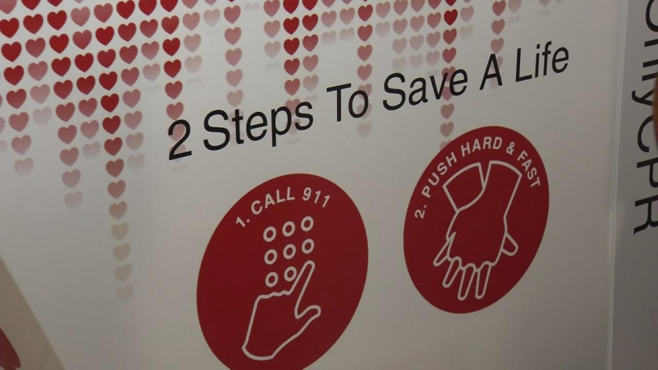 Learn to save a life in five minutes