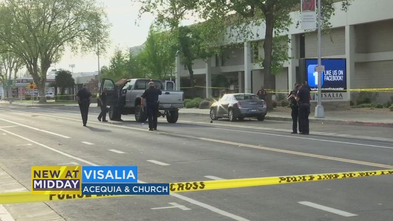 78-year-old Man hit and killed by pickup truck in Visalia