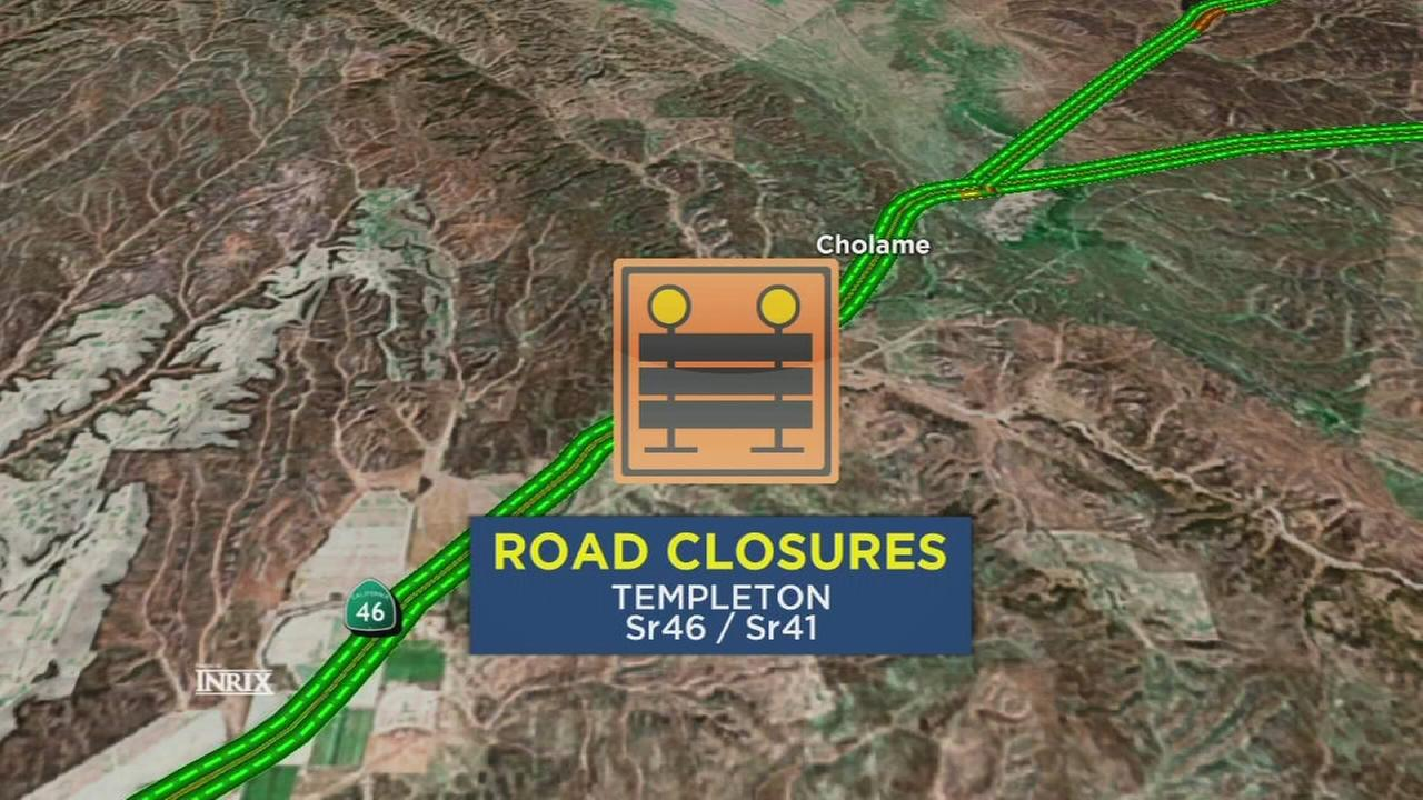 Section of major highway shut down in San Luis Obispo County after two people killed in major accident