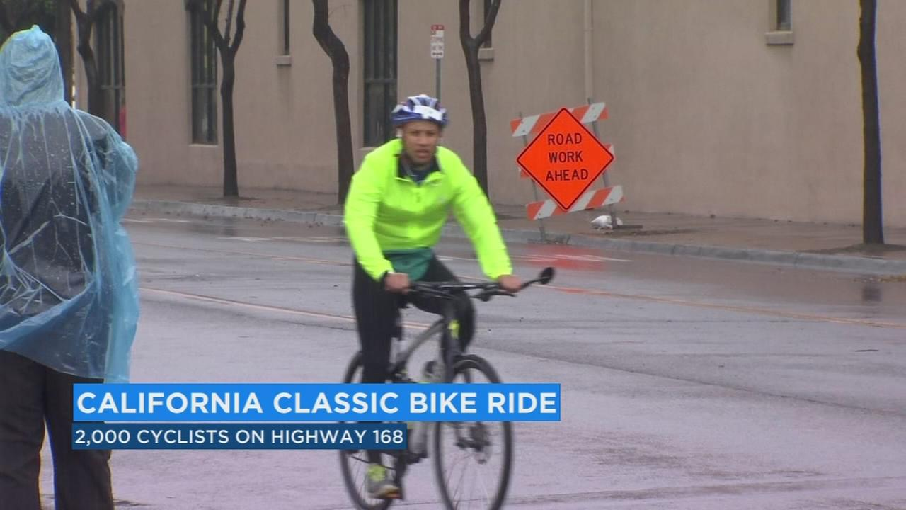 Thousands of cyclists participated in the California Classic Century bike ride