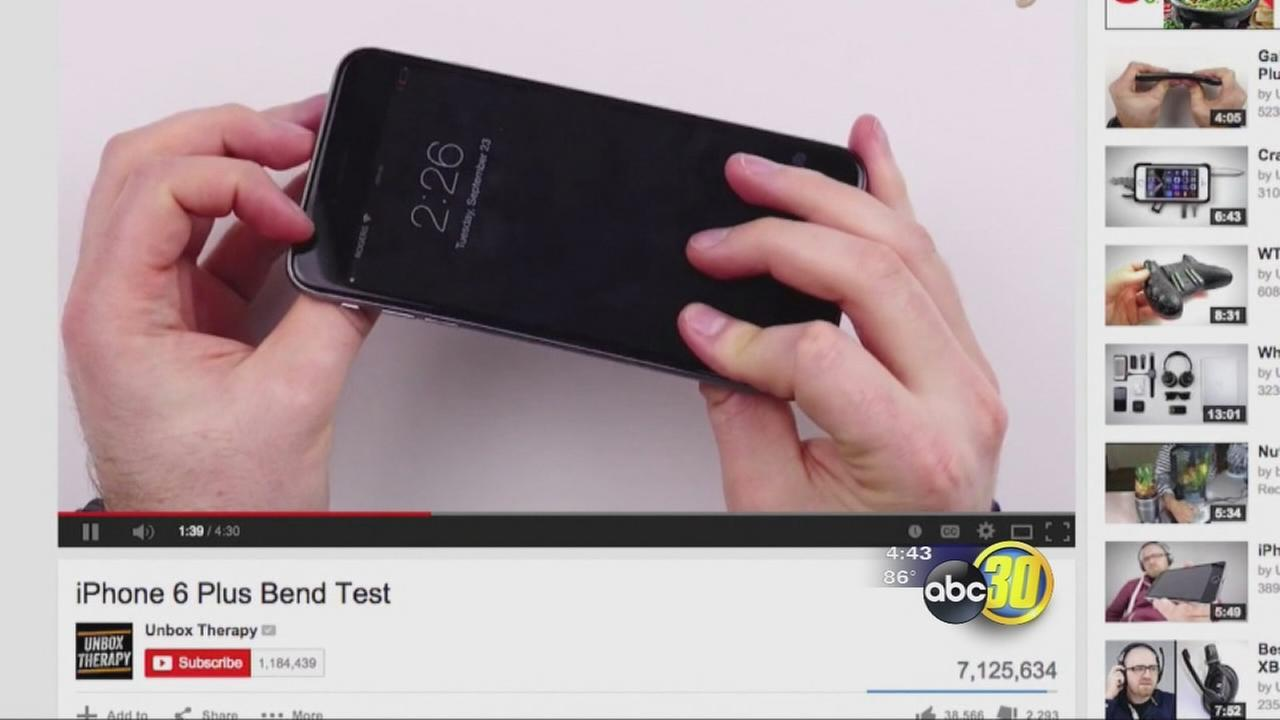 iPhone 6 bendgate tests