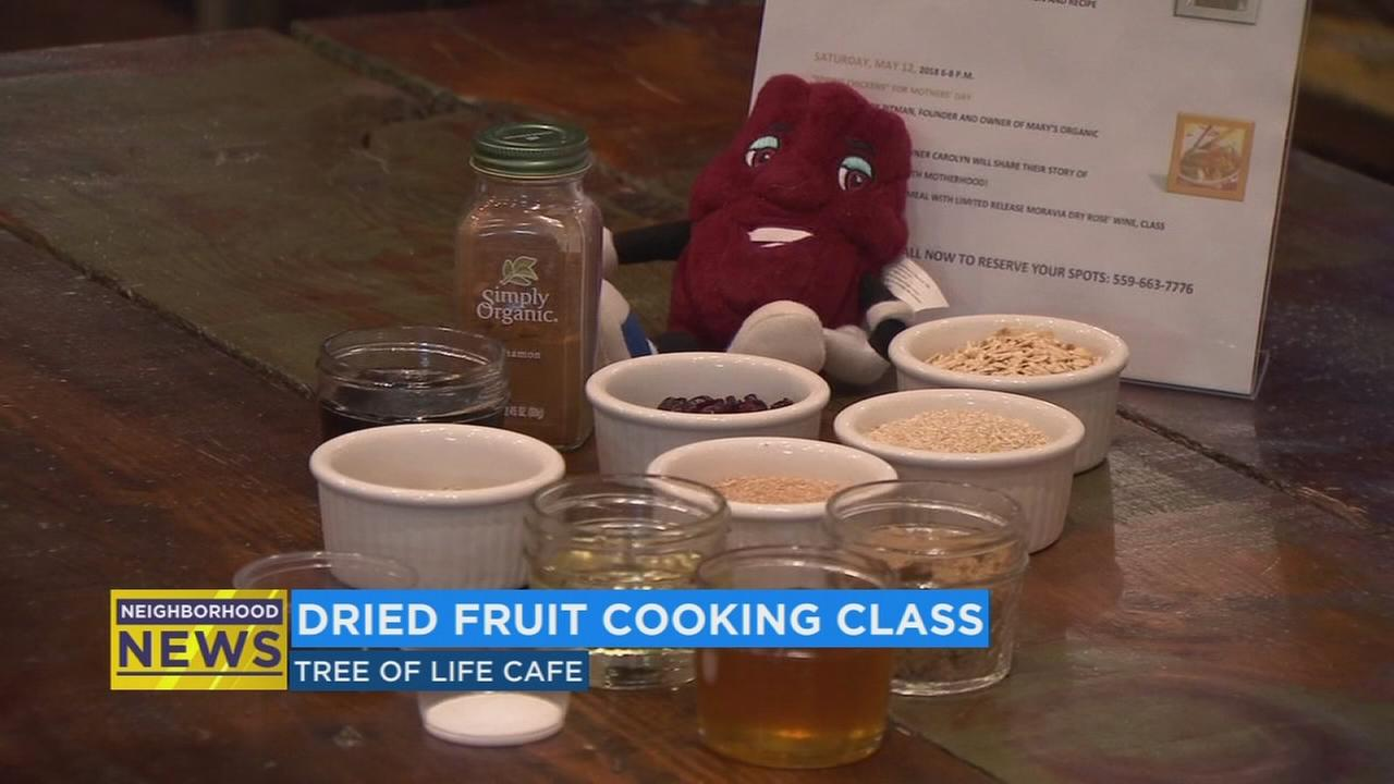 Downtown Fresno restaurant celebrates national raisin month with cooking classes