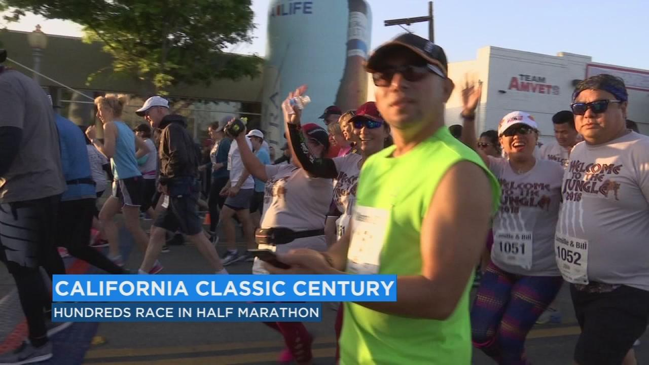 Hundreds of runners took their marks for the sixth annual California Classic
