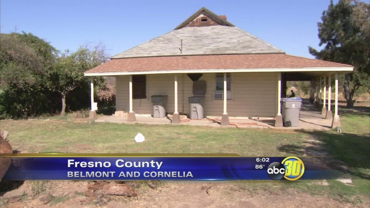 Meth lab operation in Fresno County