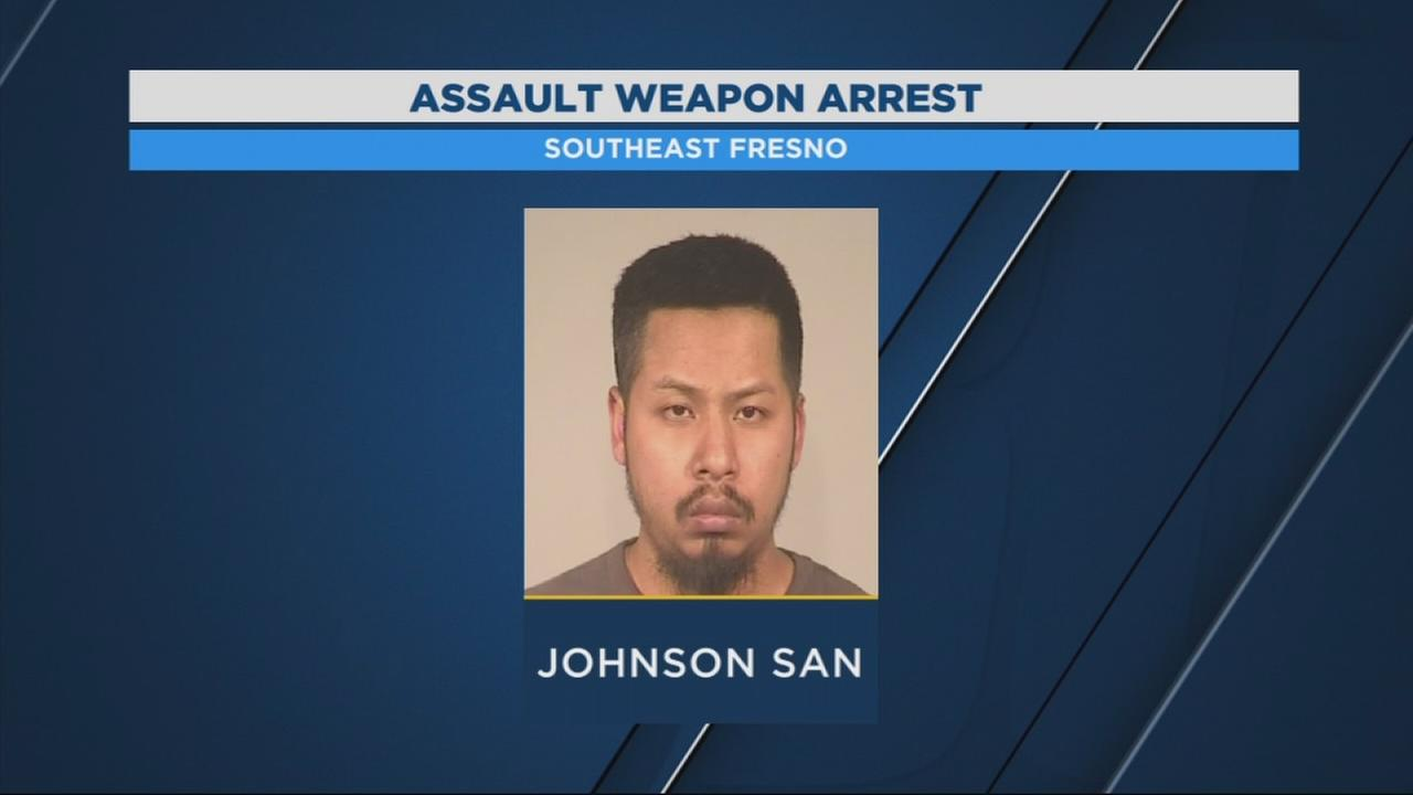 Early morning disturbance leads to arrest of SE Fresno man