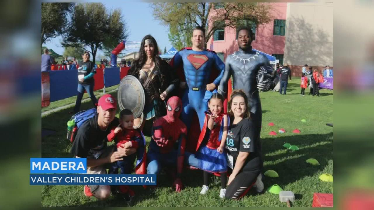 Valley Childrens Hospital transforms patients into superheroes