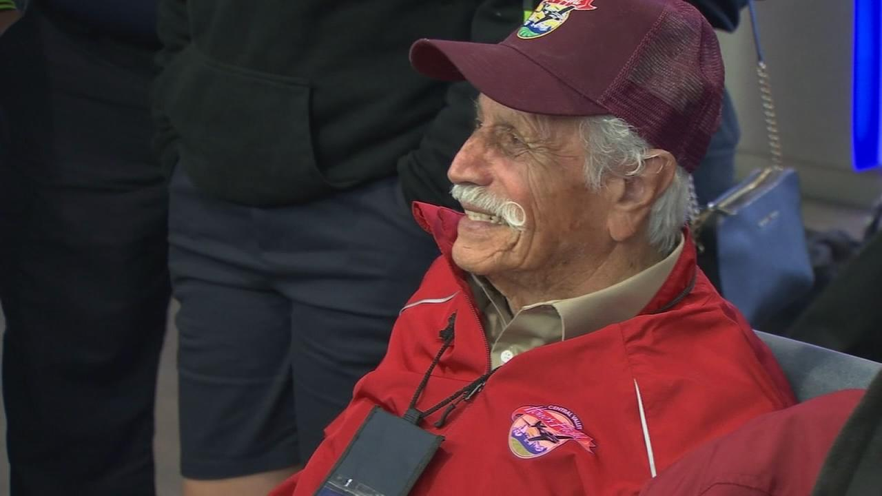 Valley veterans hit the skies for 15th Central Valley Honor Flight