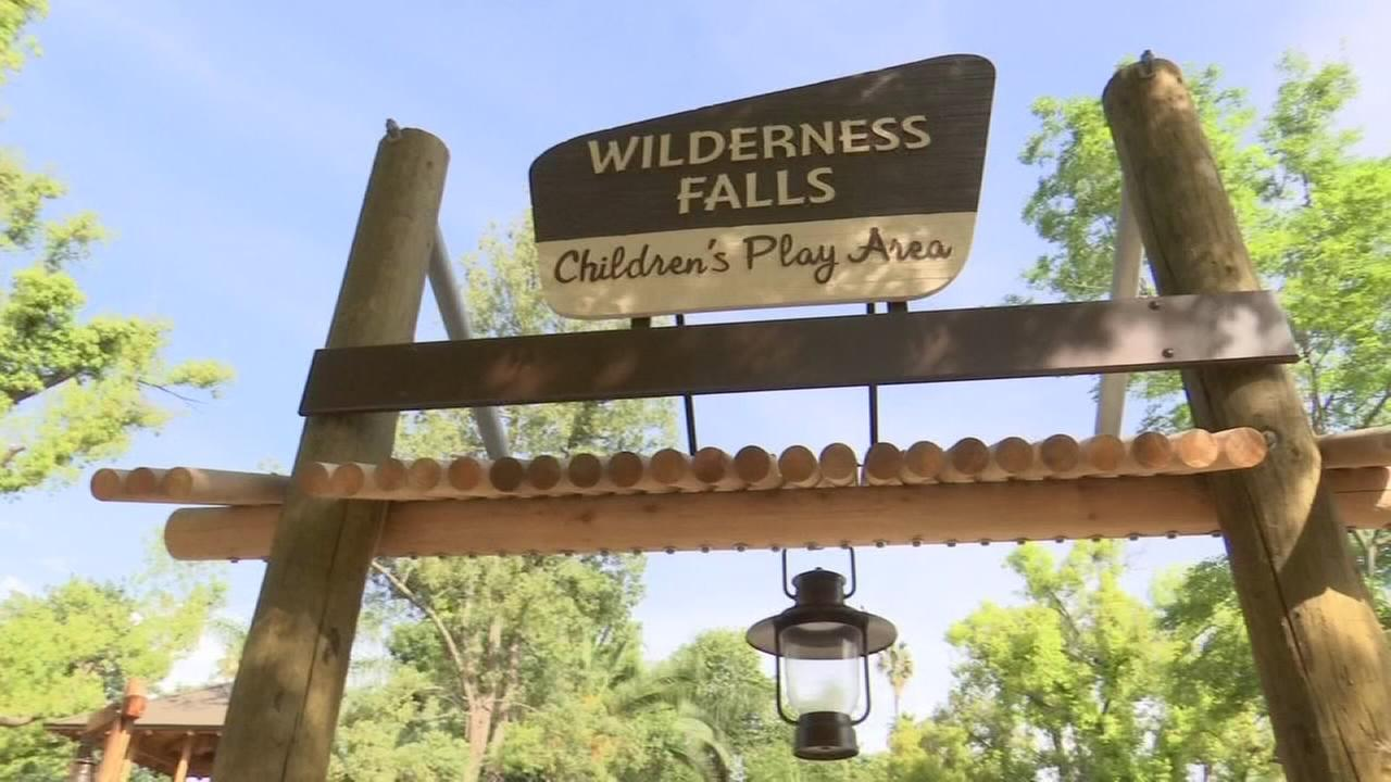 Chaffee Zoos newest attraction Wilderness Falls is gearing up to open