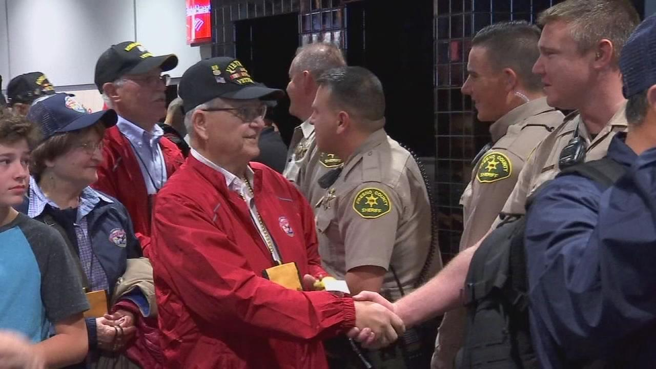 Valley veterans recieve heros homecoming