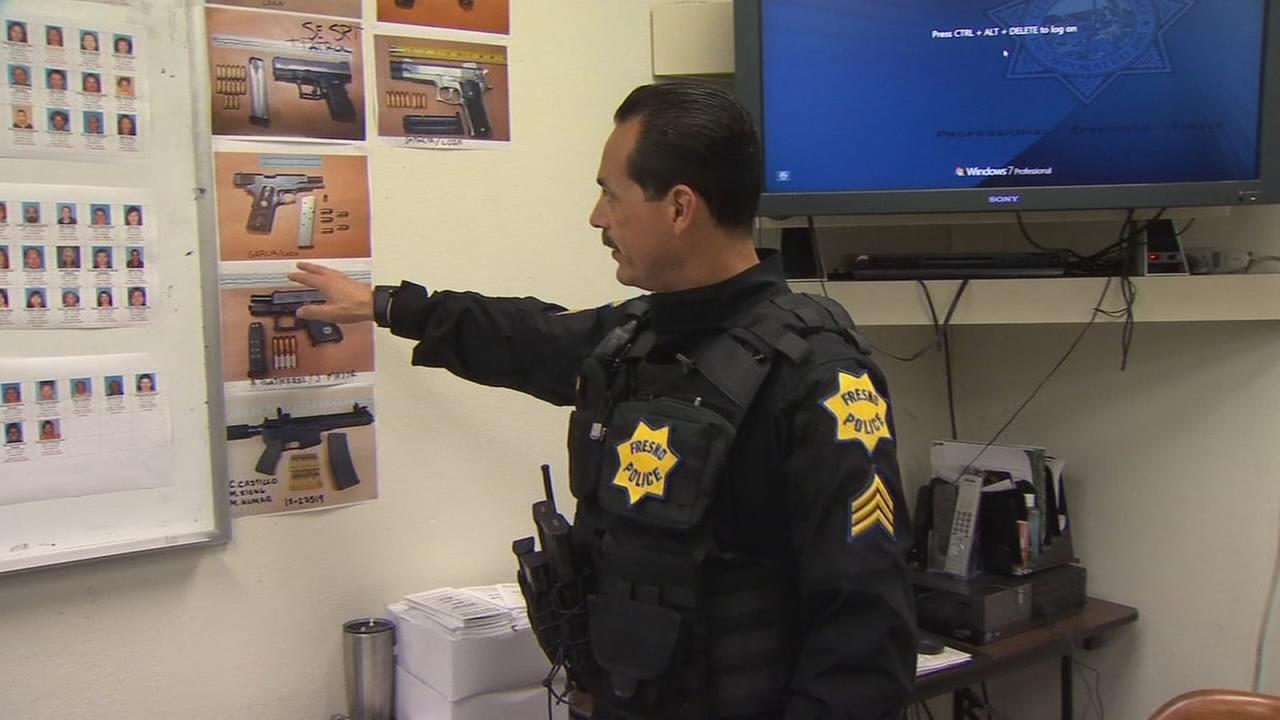 Fresno Police say as gun seizures increase, shootings decreasing