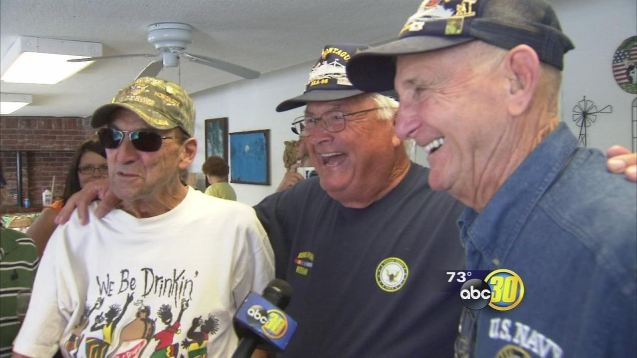 Group of Valley veterans gathered for a special reunion