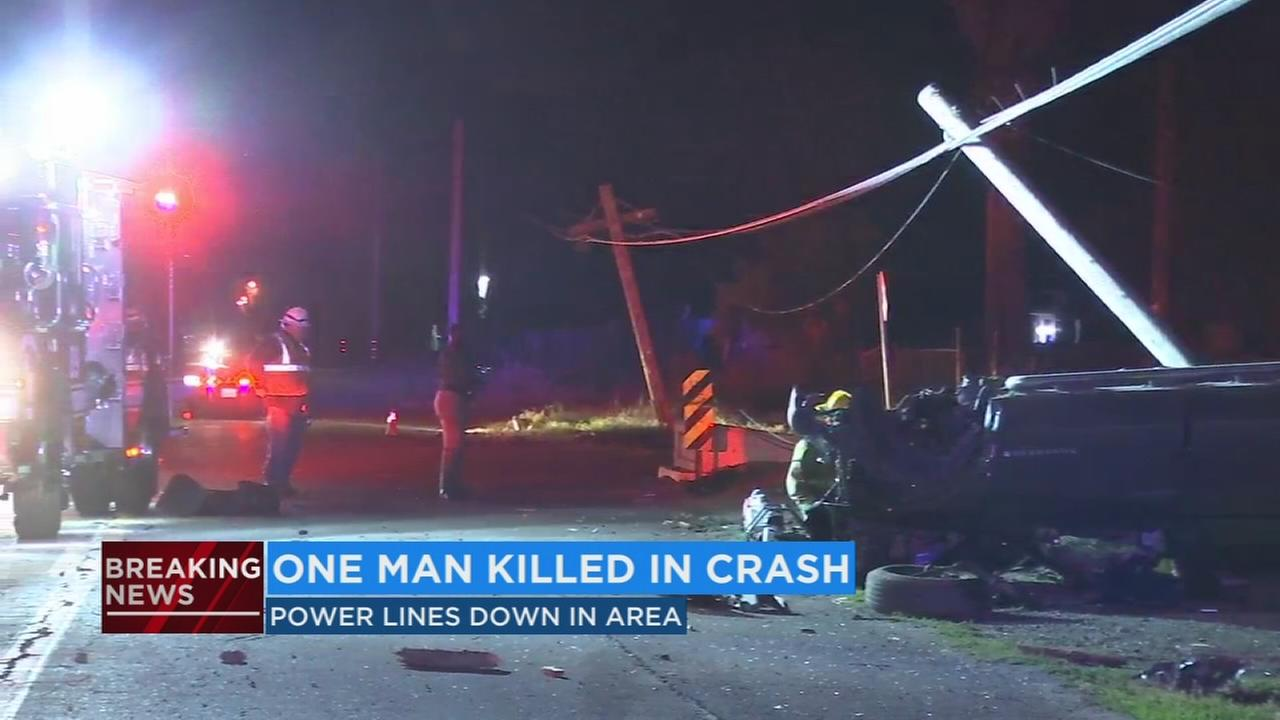 Man dead after roll-over accident in SW Fresno