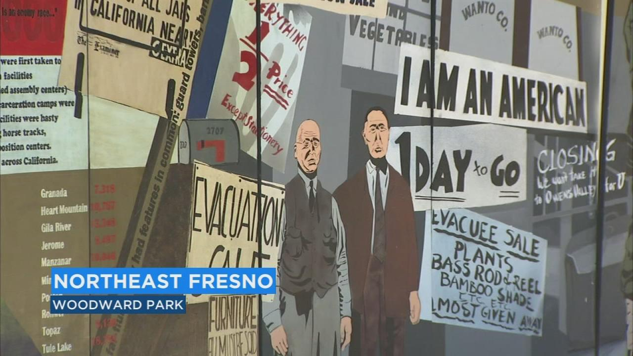 Local students commemorating 7th anniversary of Japanese incarceration with art