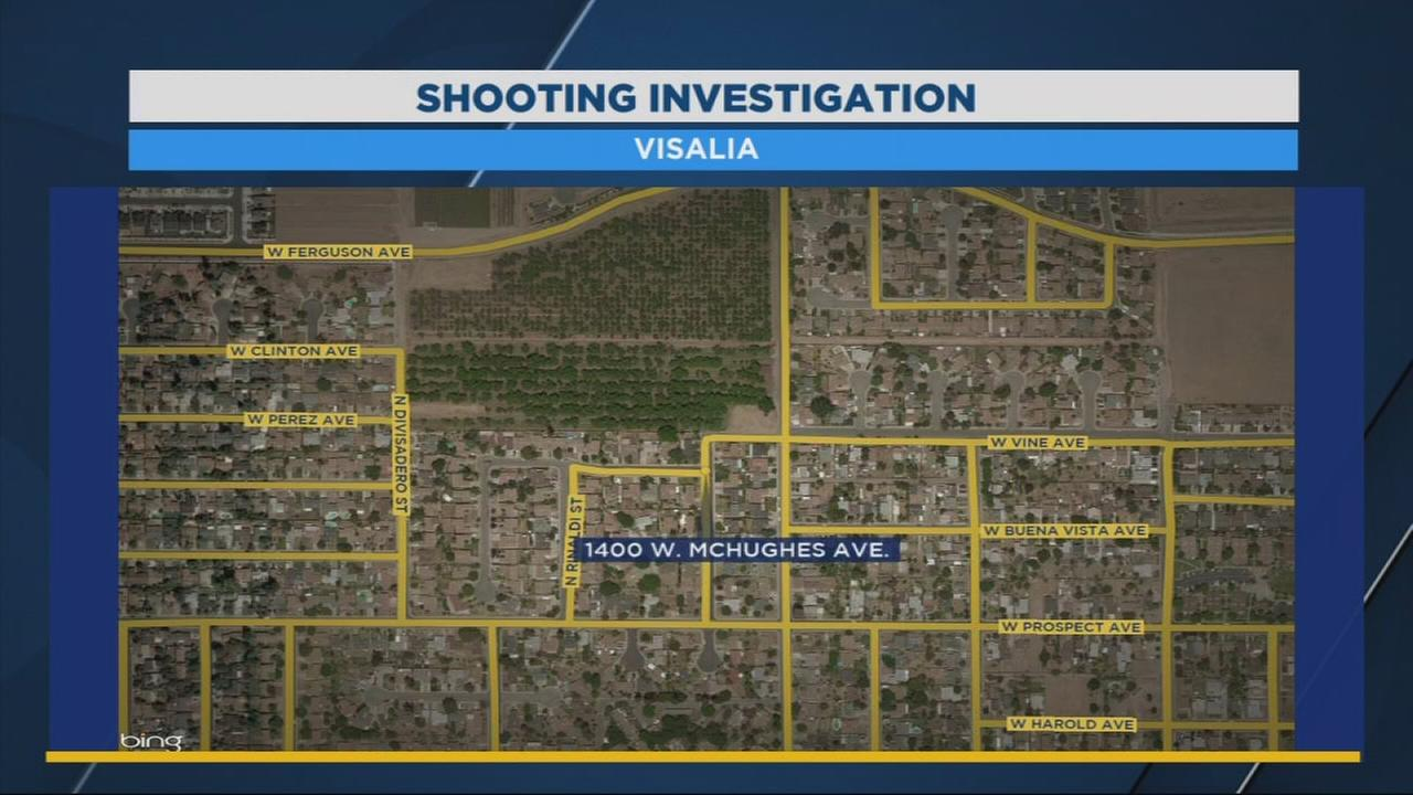 62-year-old shot several times after interrupting attempted burglary in Visalia