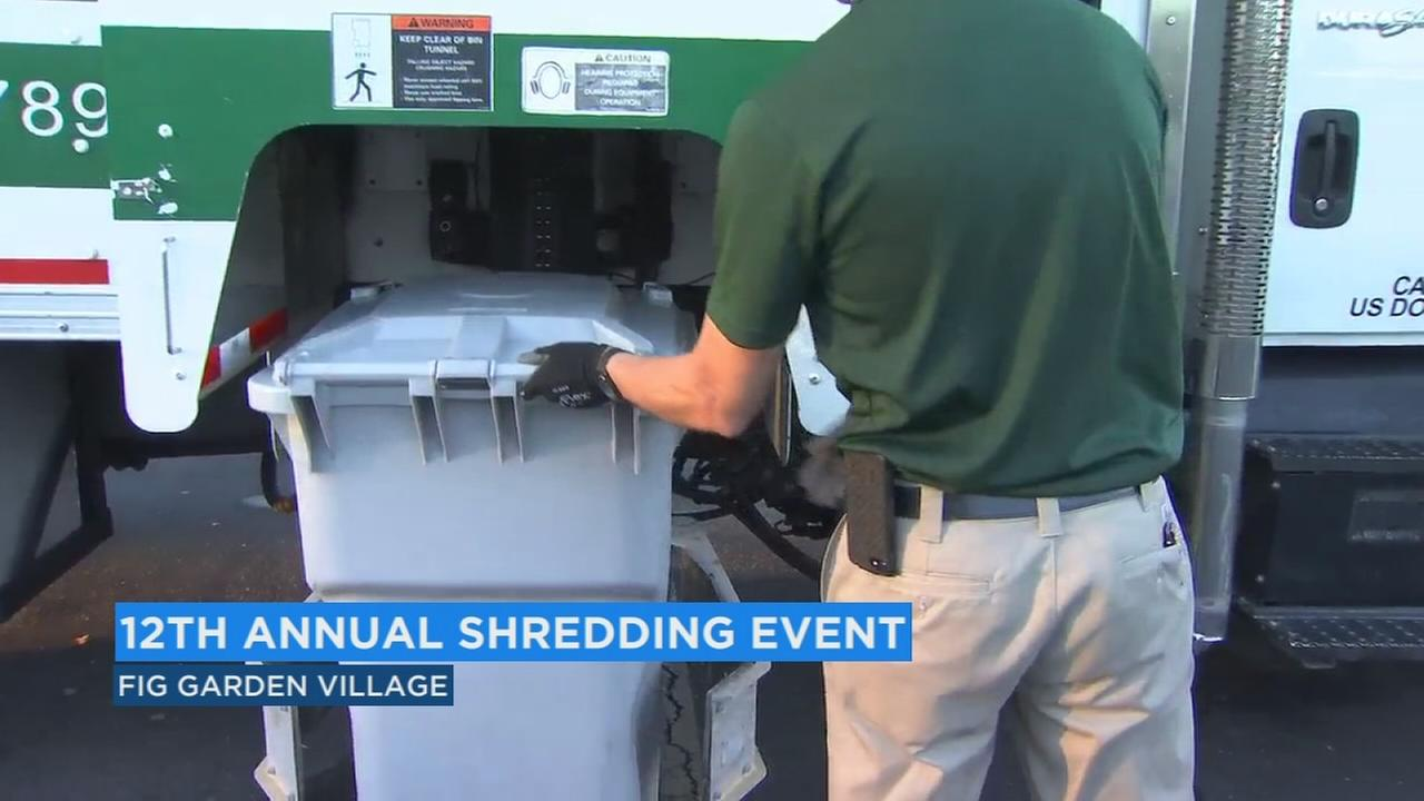 Central Valley Community Bank hosting free shredding event