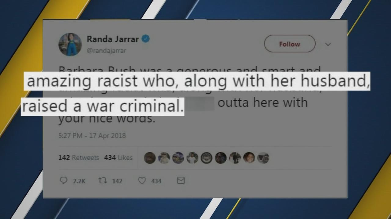 Fresno State professor sends controversial tweet calling Barbara Bush amazing racist after her death