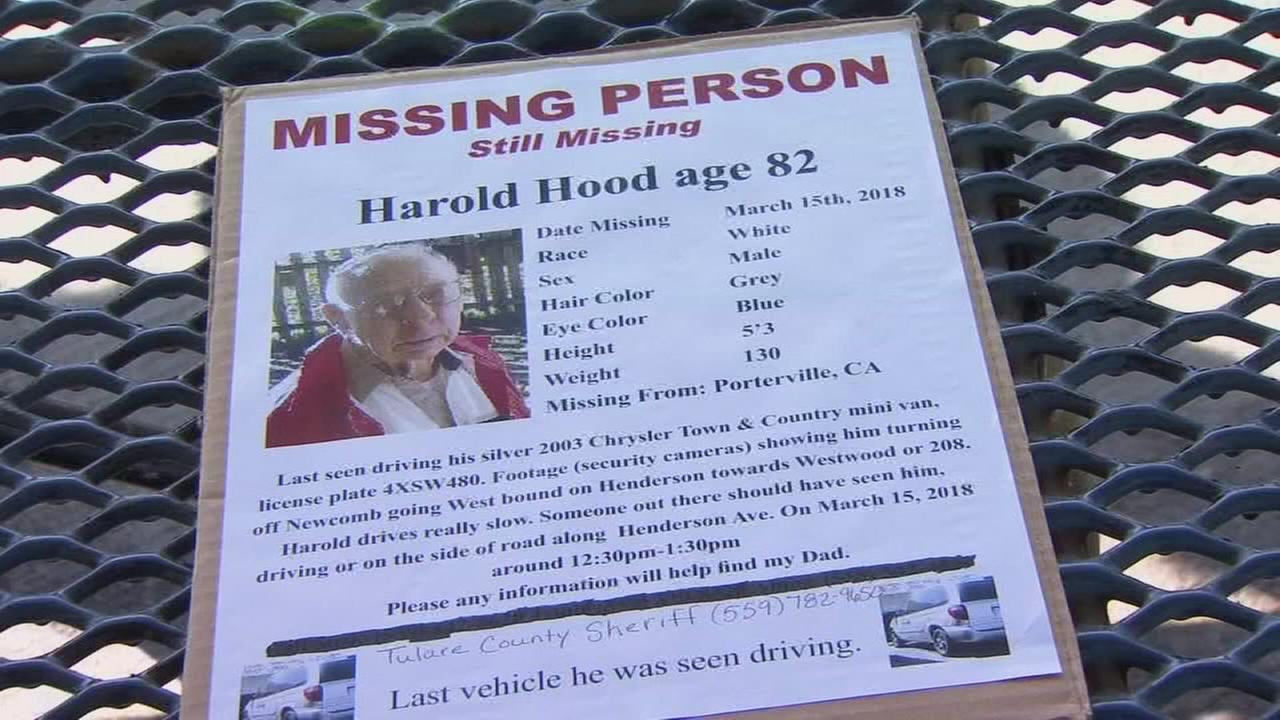 Search continues for missing Porterville man