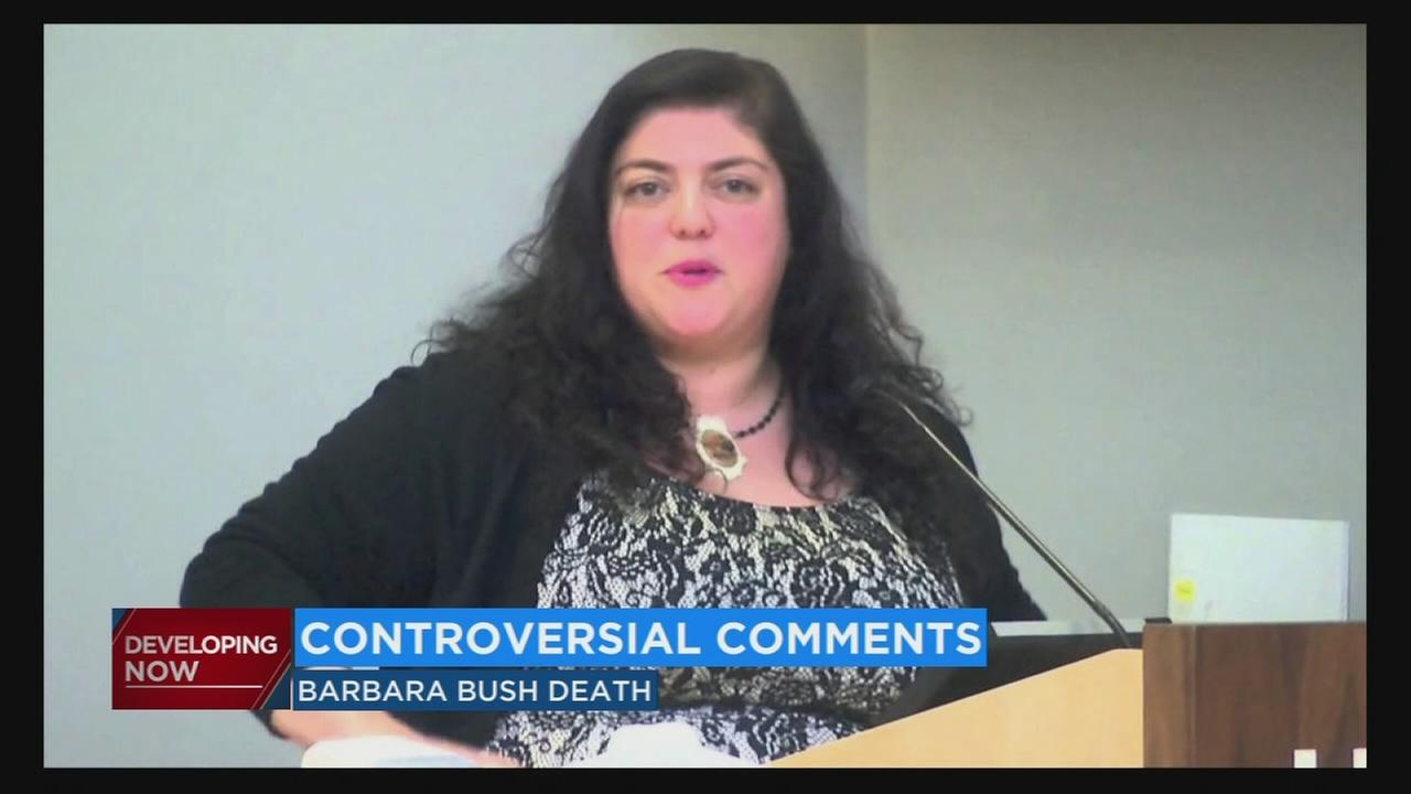 Fresno State responds after controversial tweet by professor regarding the death of Barbara Bush