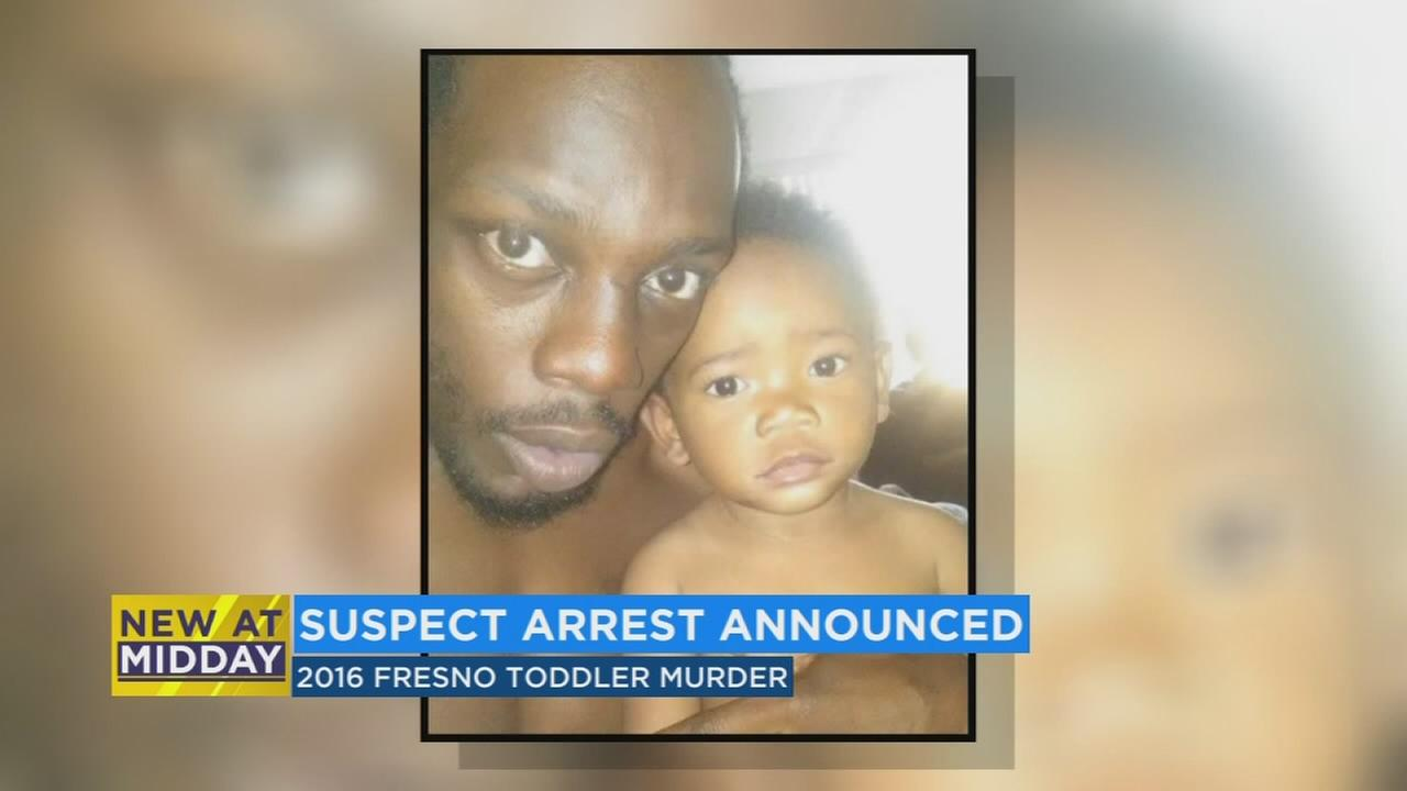 Fresno police arrest suspect in the killing of a toddler 2 years ago