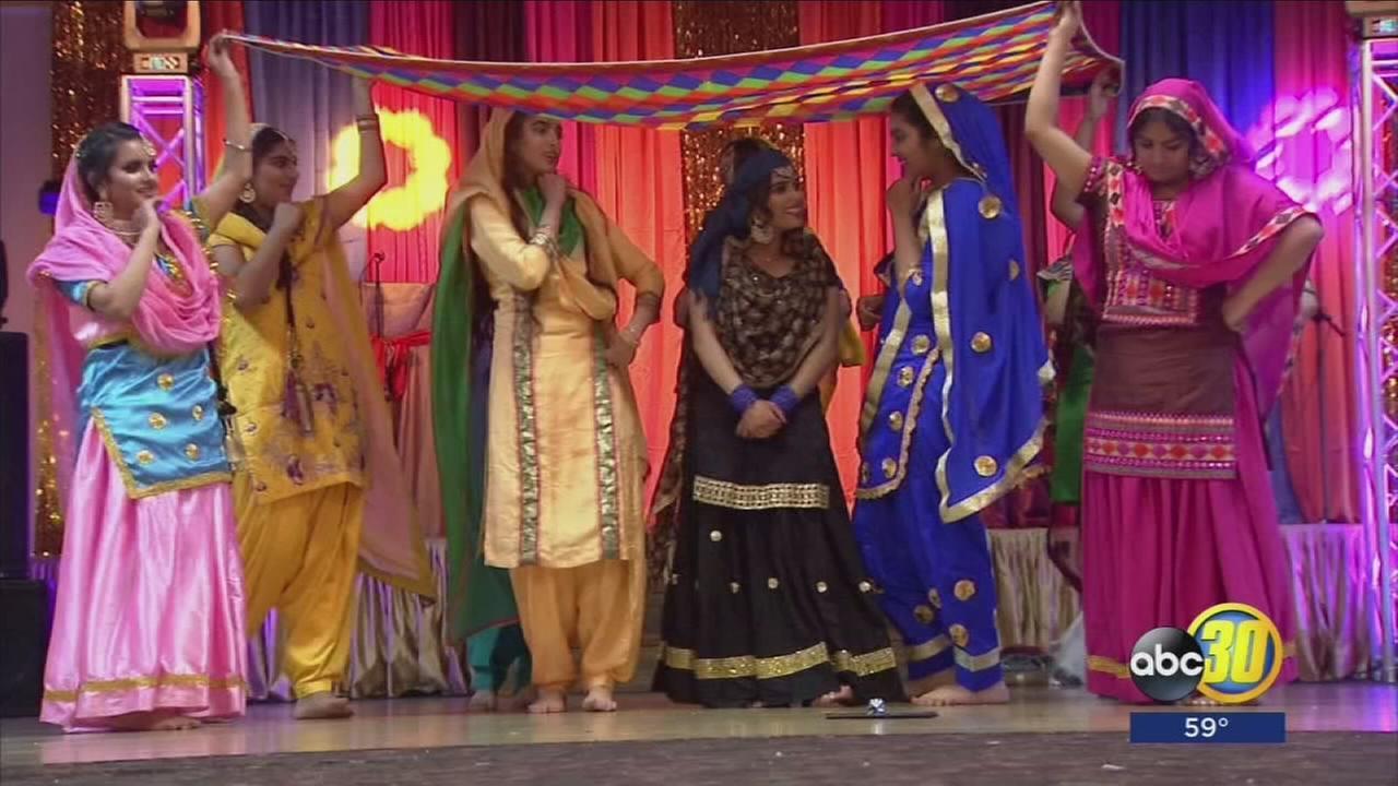 High School students celebrate Punjabi culture with performance