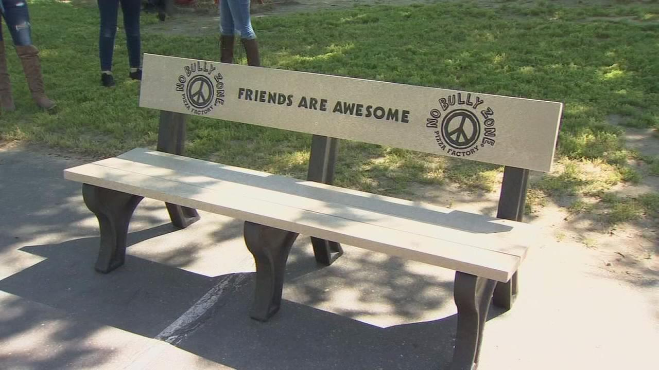 Buddy Bench helping encourage friendship at one elementary school