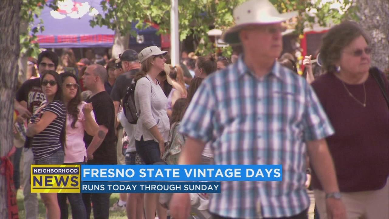 Vintage Days kicks off at Fresno State