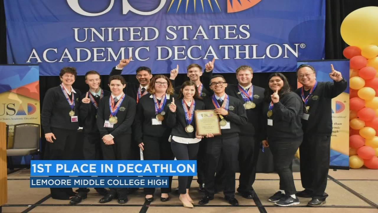 Lemoore school takes home winning title at U.S. Academic Decathlon National Competition