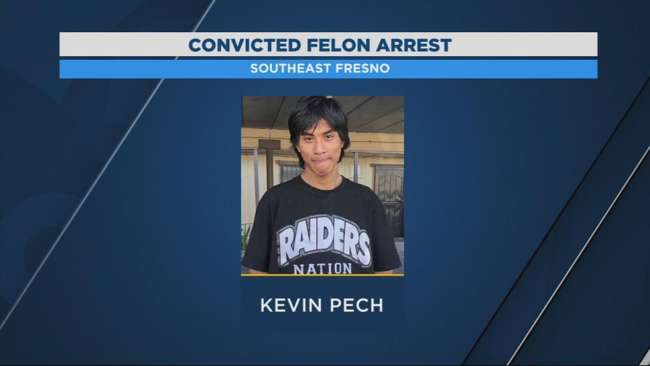 Fresno Police arrest convicted felon carrying loaded gun