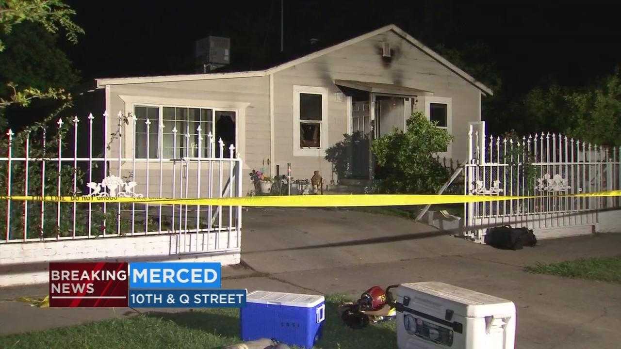 2 children killed in Merced house fire