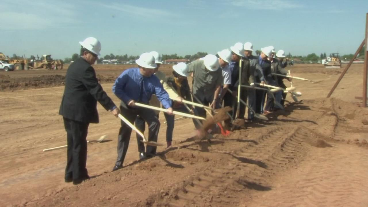 Groundbreaking for Matilda Torres High School in Madera