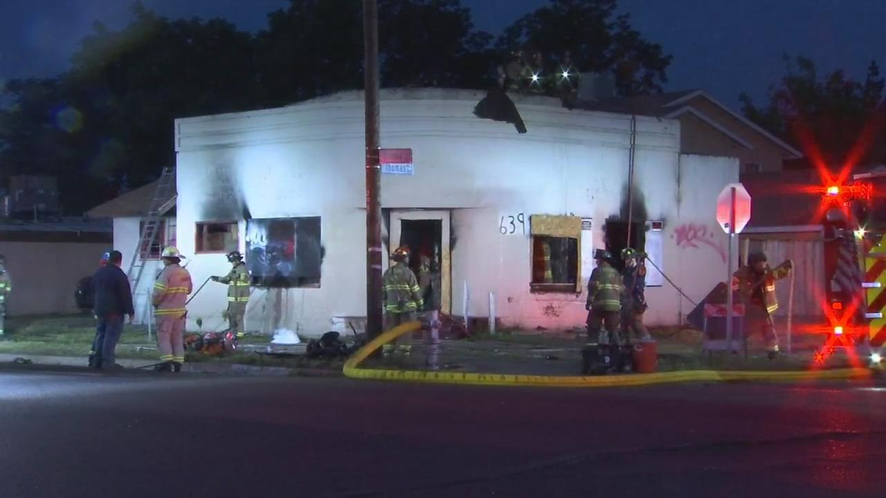Fresno fire knocks down fire at business in Central Fresno
