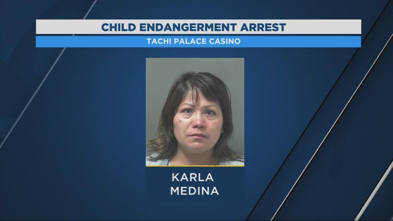 Woman arrested for leaving 5-year-old alone in Tachi Palace hotel room while she gambled
