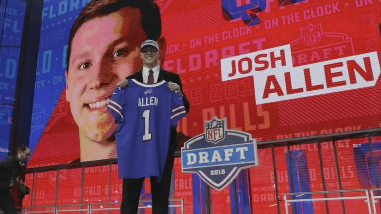 Buffalo Bills draft Firebaughs Josh Allen with 7th overall pick