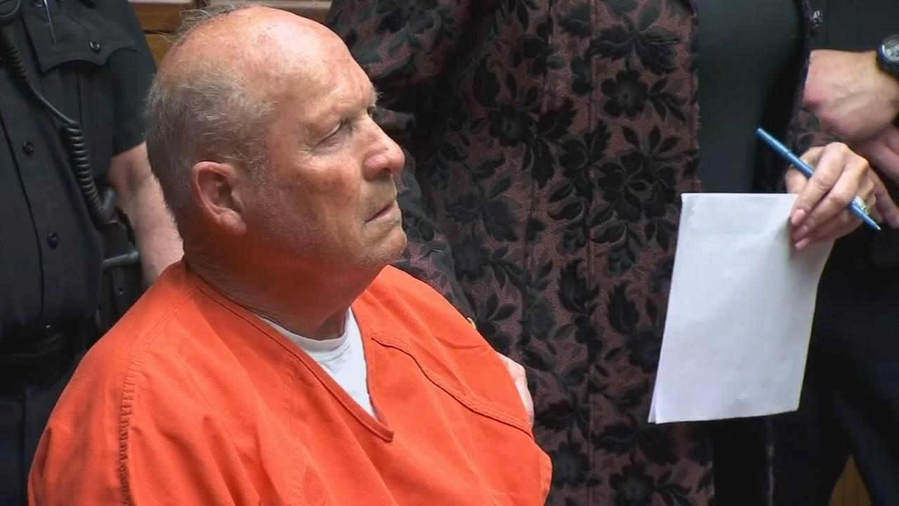 Suspected Golden State Killer appears in Sacramento County Court for first time