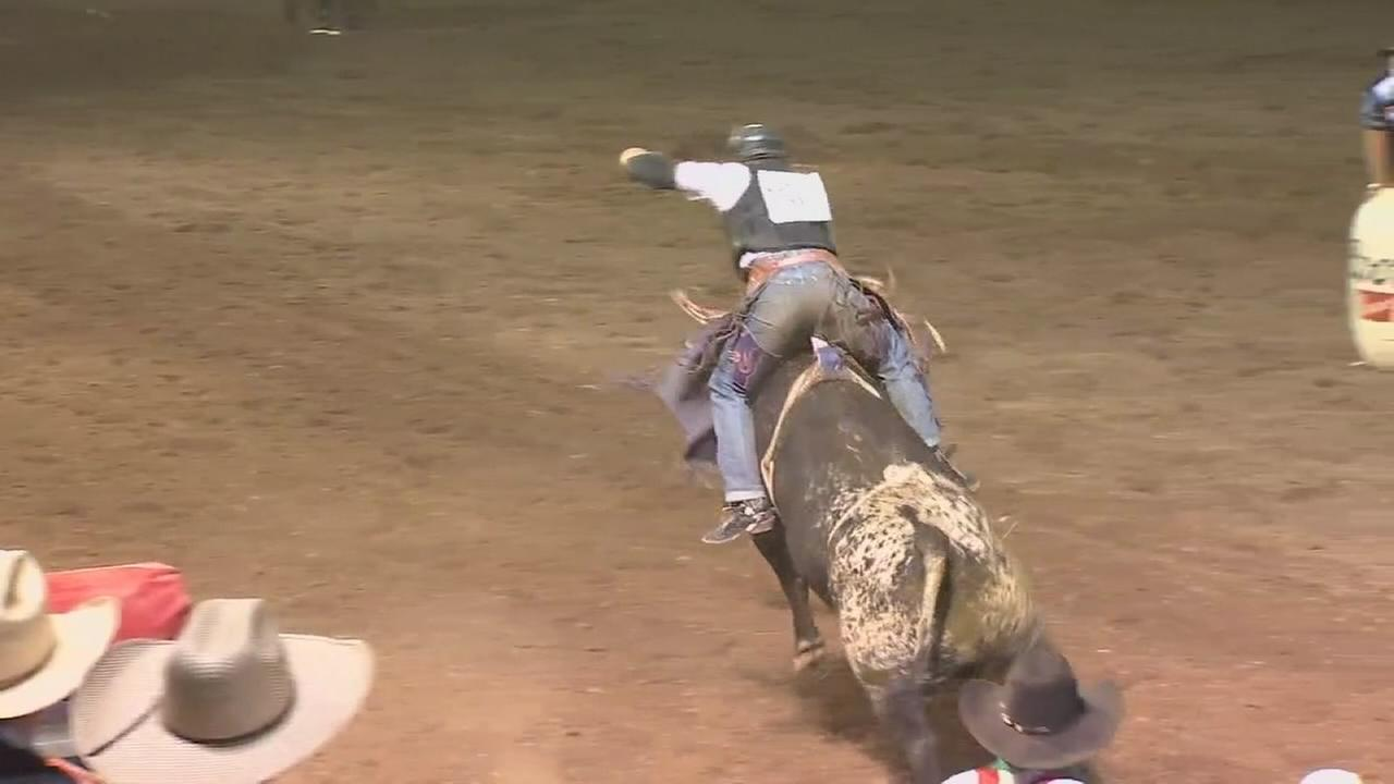 Crowds roll in for night two of the Clovis Rodeo.
