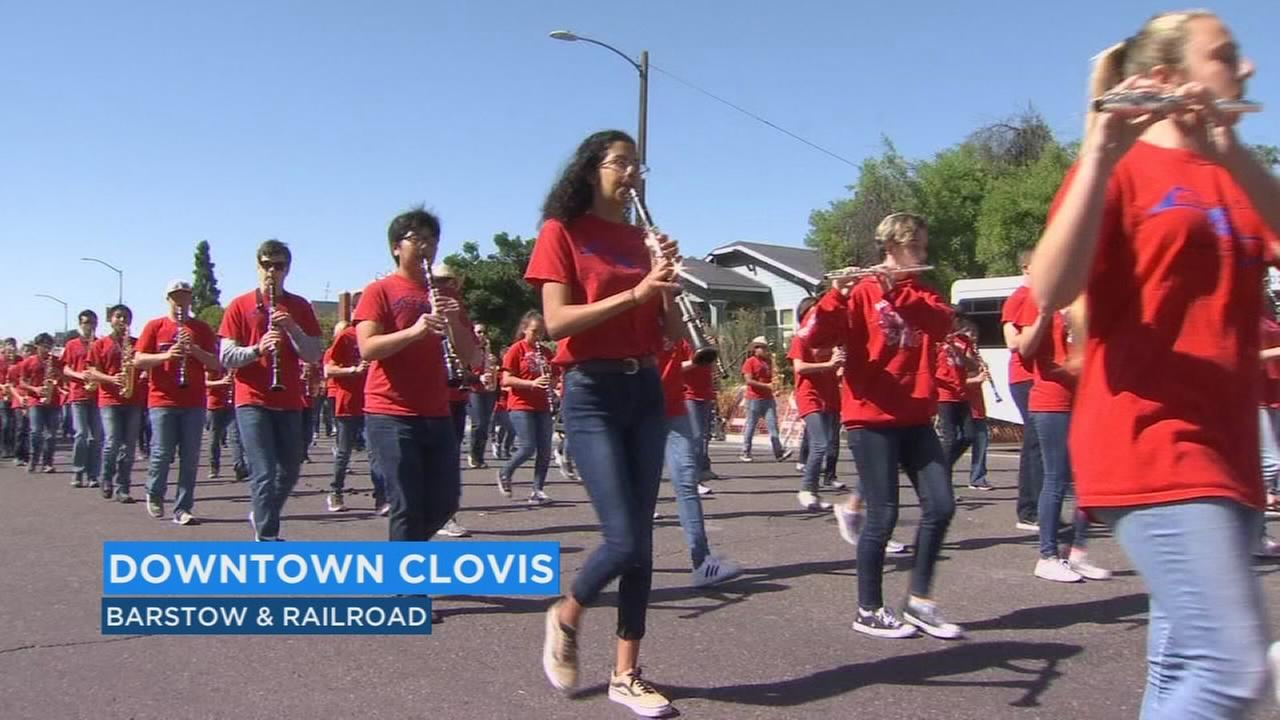 Annual parade kicks off third day at Clovis Rodeo