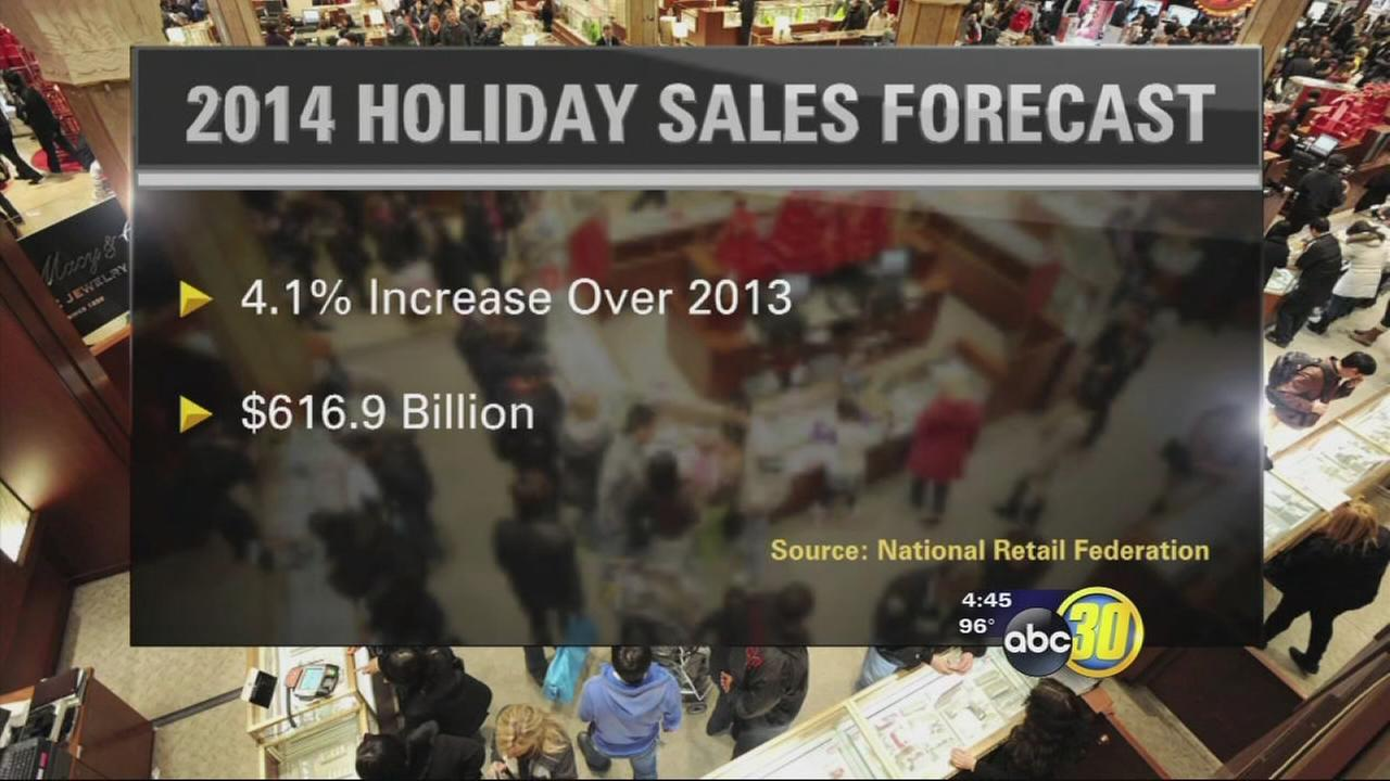 Retailers expect an increase in holiday sales