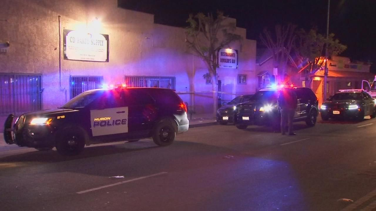 Four stabbed during Huron bar fight