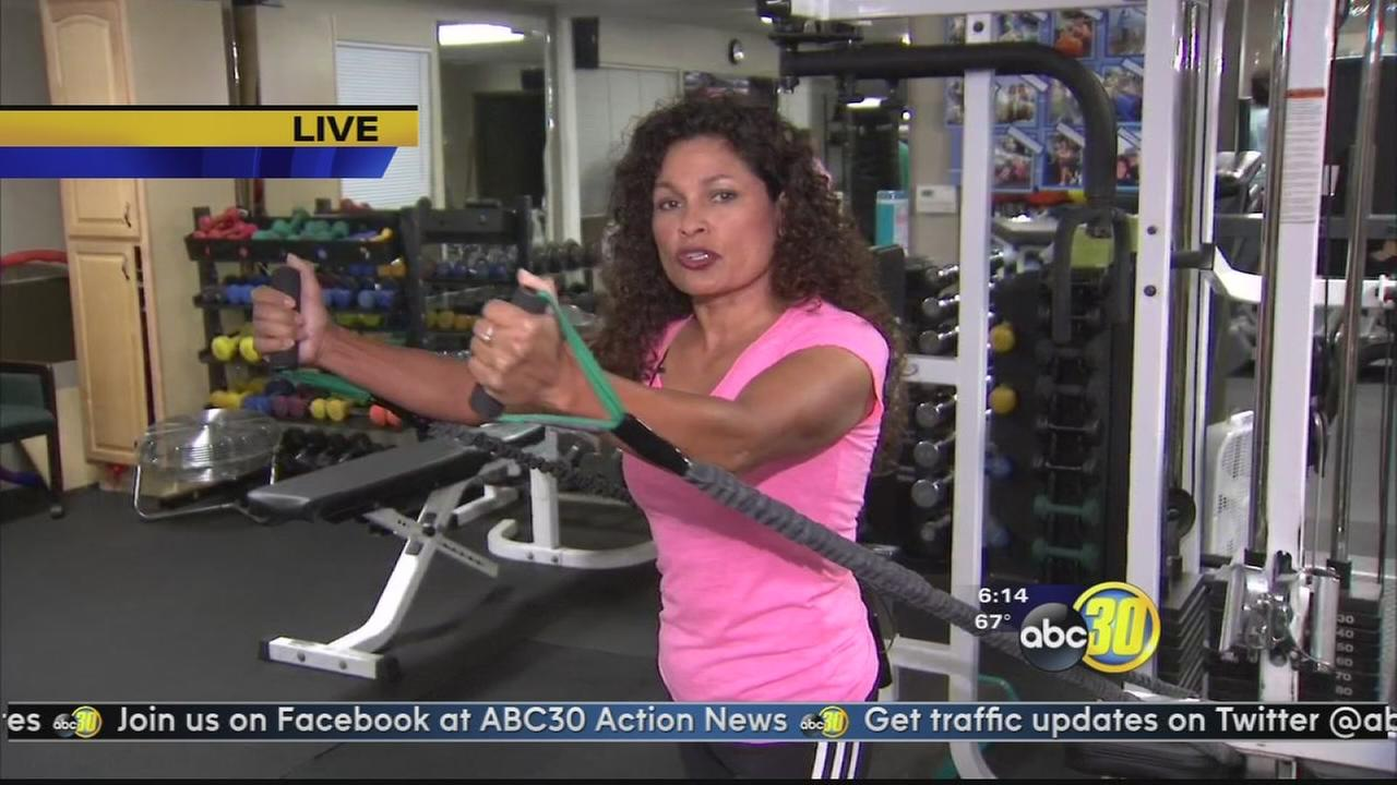 Workout for breast cancer survivors