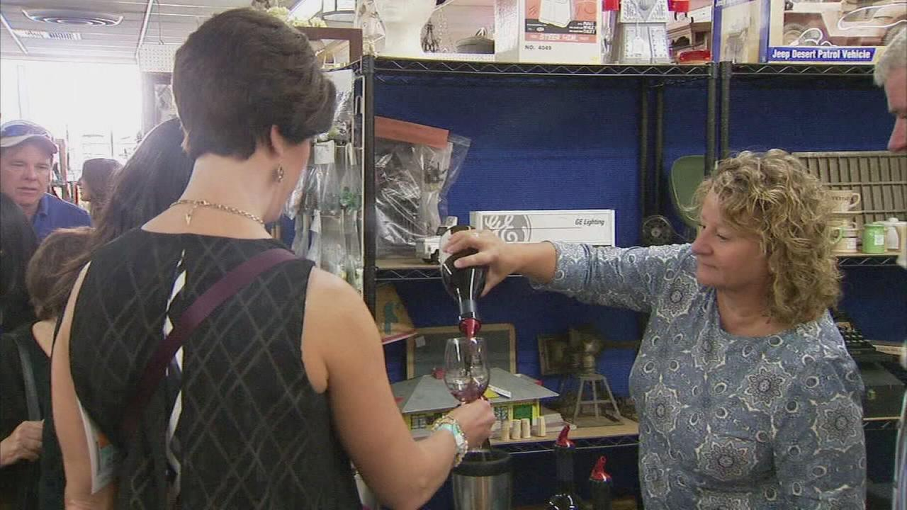 Wine Walk saunters back into Old Town Clovis