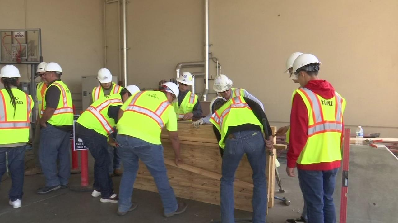Fresno County students learn about construction careers