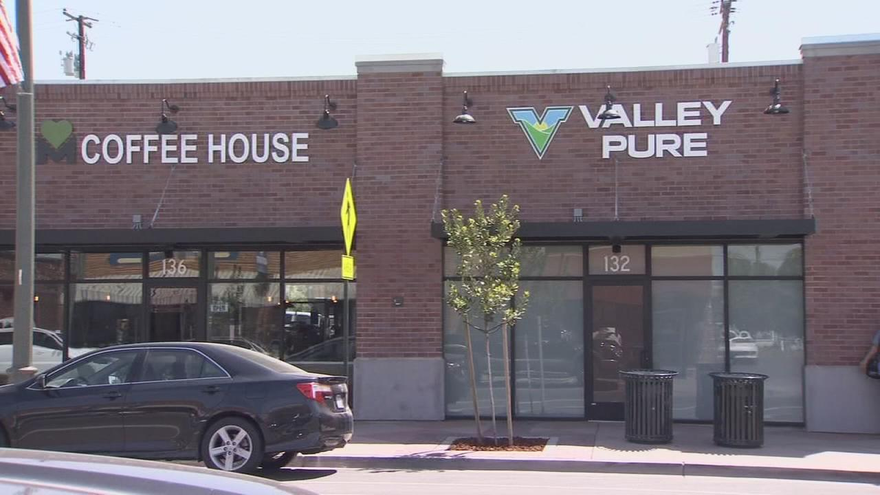 Valley?s first pot dispensary opens for business