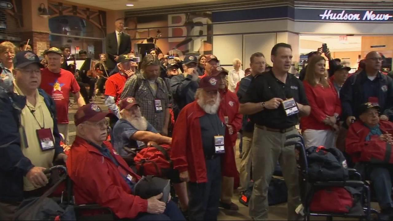 Central Valley Honor Flight takes off for D.C.