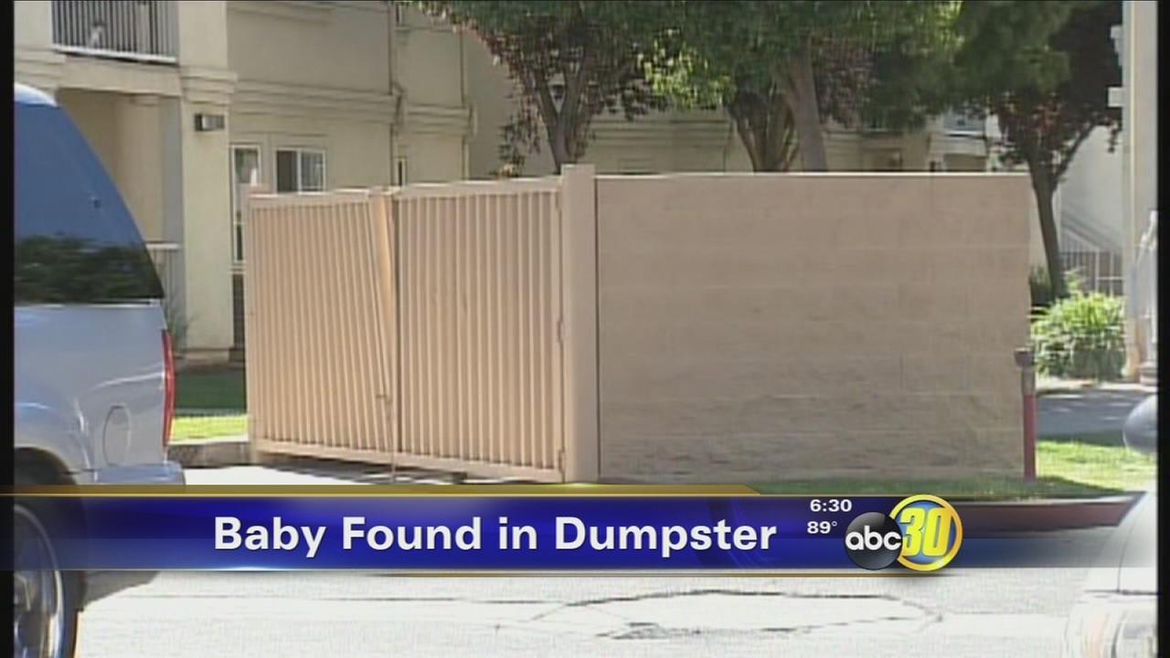 Newborn baby girl found in Merced dumpster