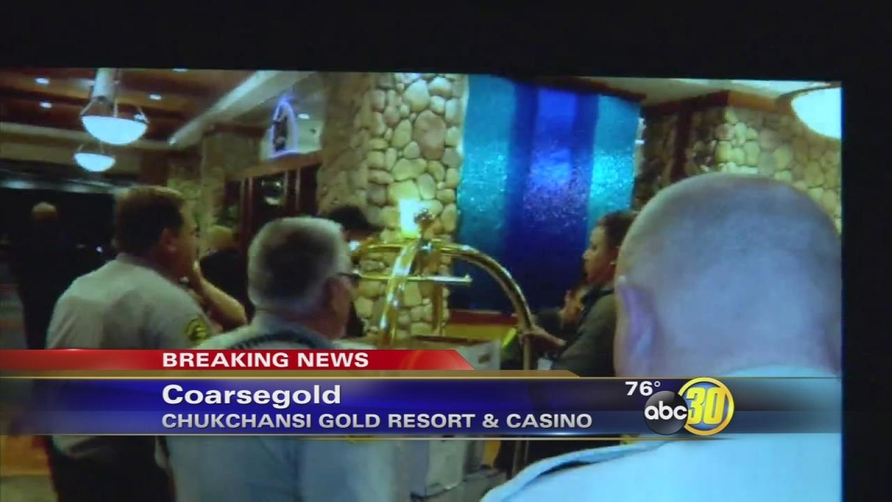 Chukchansi Gold Resort and Casino confirms gunmen stormed the casino